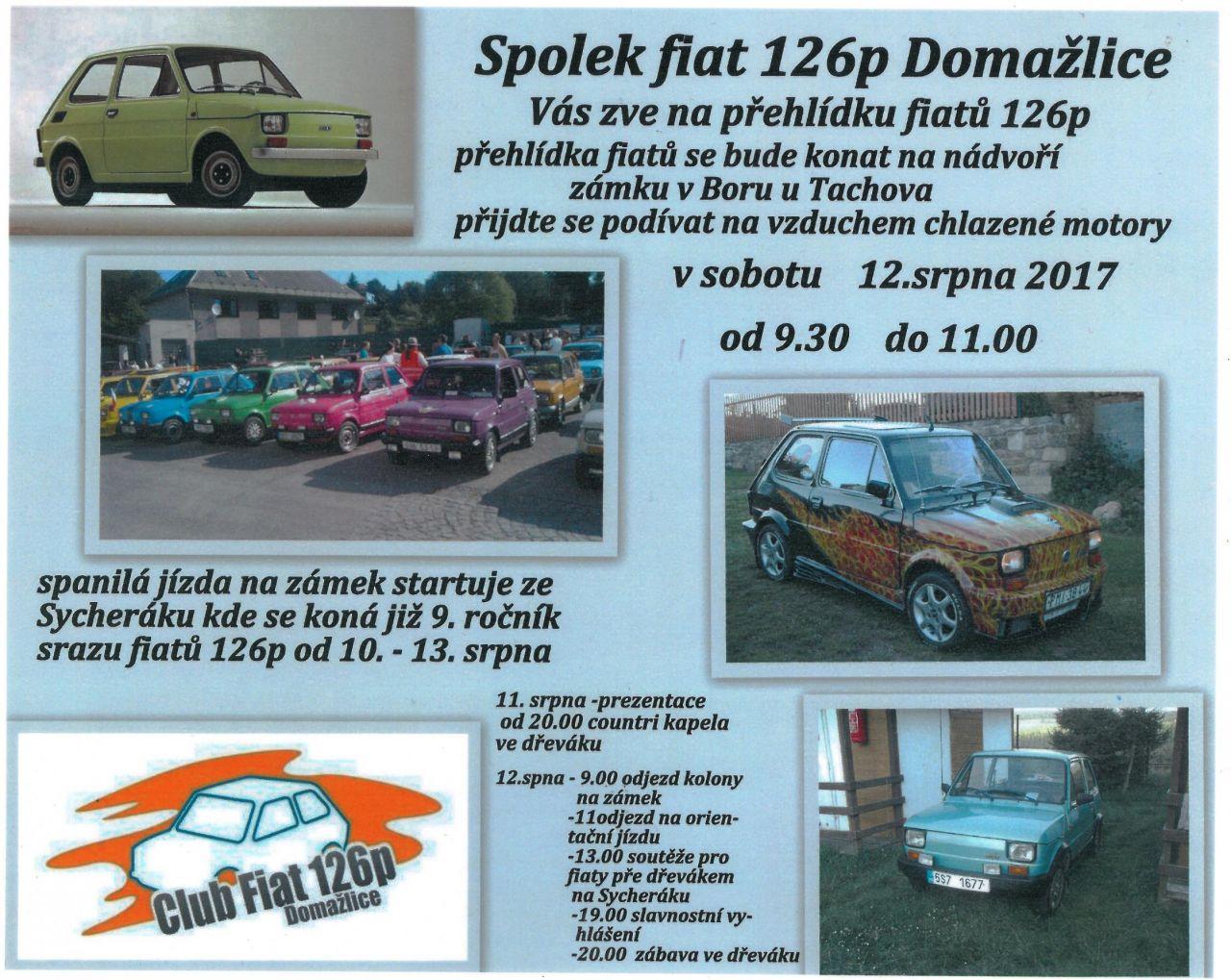 2017-08-12 Přehlídka Fiat 126p 1