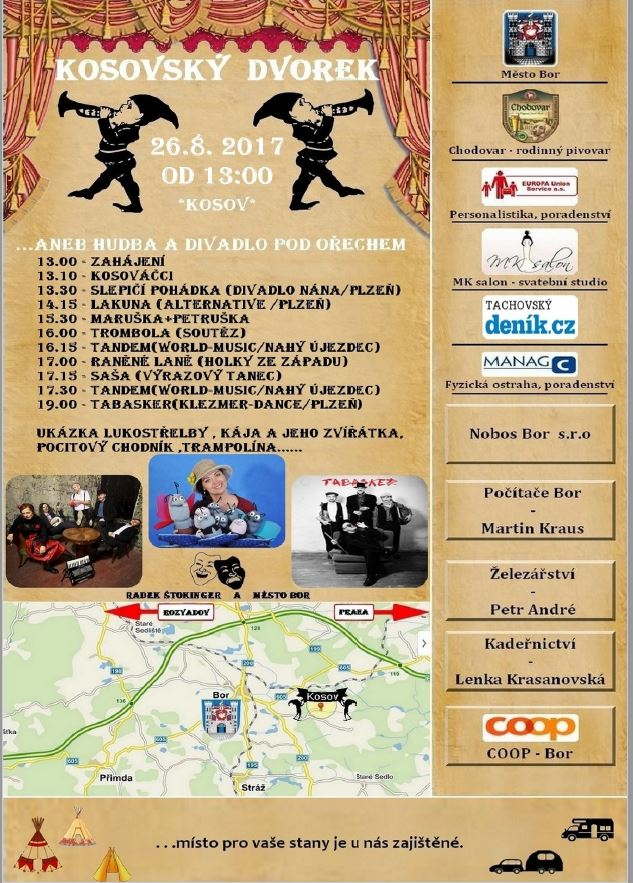 Kosovský dvorek - plakát