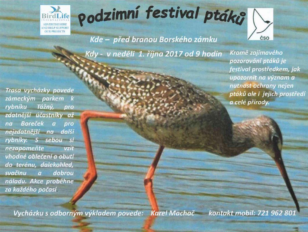 2017-10-01 Podzimní festival ptáků  1