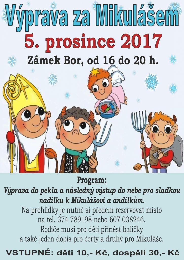 2017-12-05 Mikuláš na zámku 1