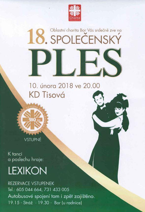 2018-02-10 18. společenský ples v Tisové 1