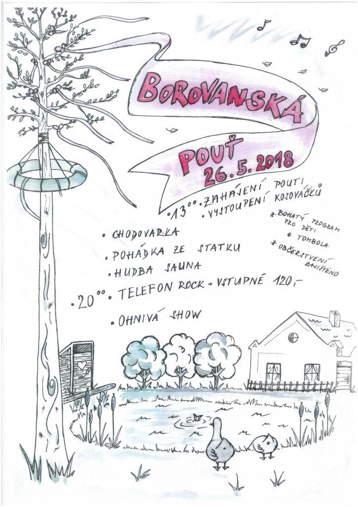 2018-05-26 Borovanská pouť 1
