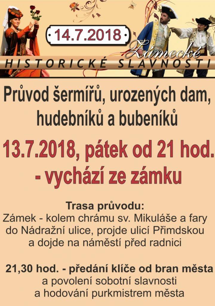 2018-07-14 Zámecké slavnosti v Boru 1