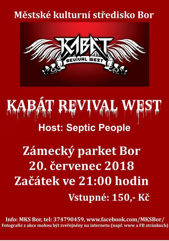 2018-07-20 Koncert kapely Kabát revival West 1