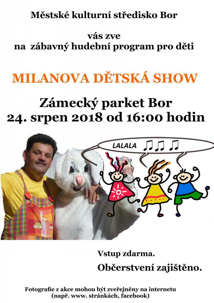 Milanova dětská show  1