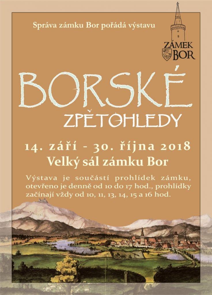 2018-09-14 Borské zpětohledy - výstava na zámku 1