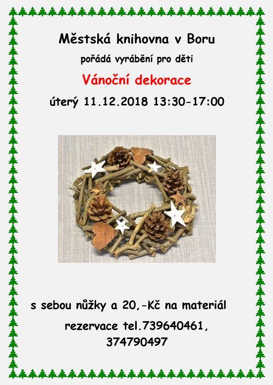 2018-12-11 Výroba dekorací v knihovně 1
