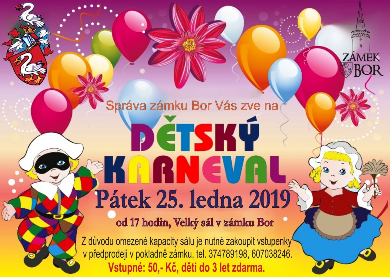 2019-01-25 Dětský karneval na zámku 1