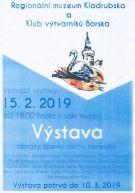 2019-02-15 Vernisáž výstavy Klubu výtvarníků Borska 1
