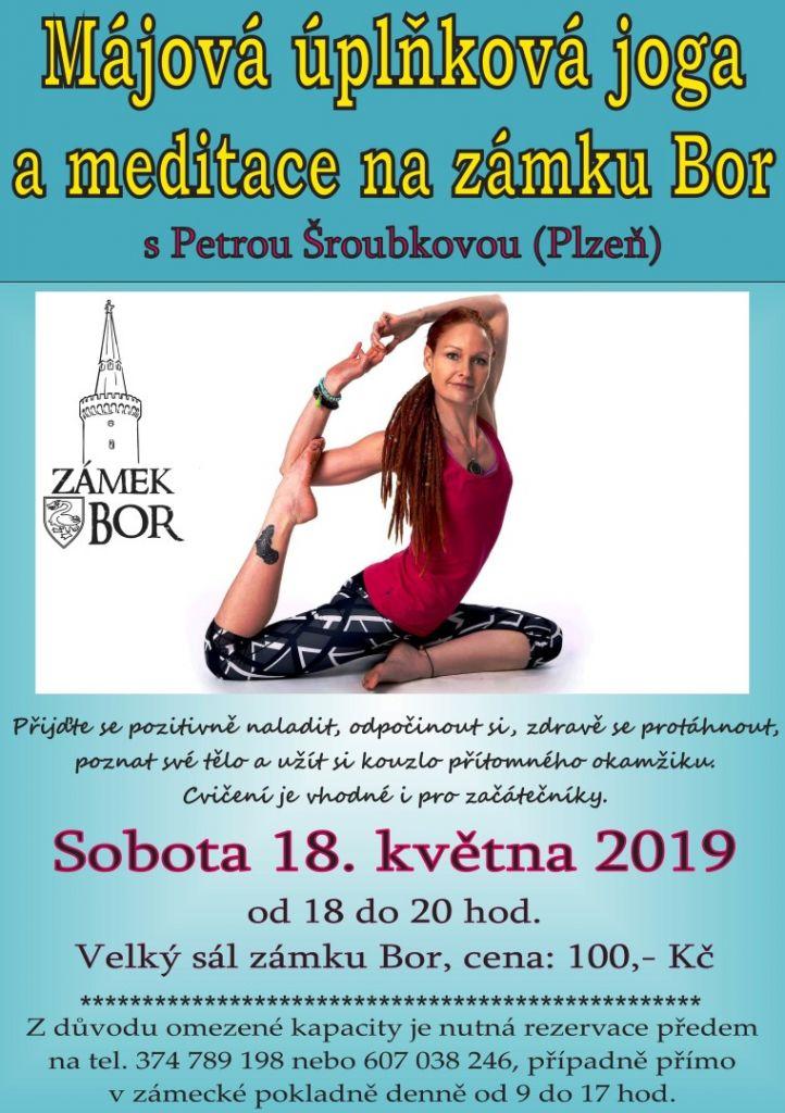 2019-05-18 Májová jóga na zámku 1