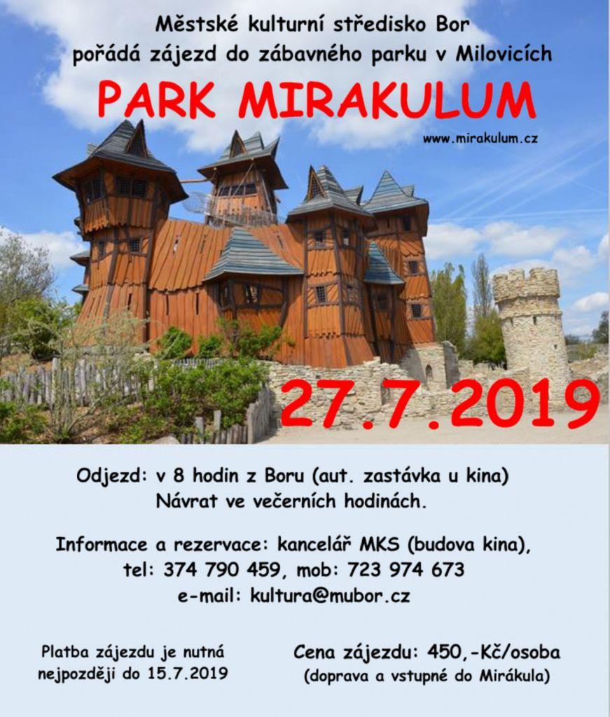 2019-07-27 Park Mirákulum - zájezd 1