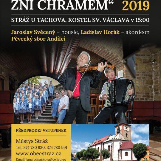 2019-08-25 Koncert Hudba a zpěv zní chrámem 1