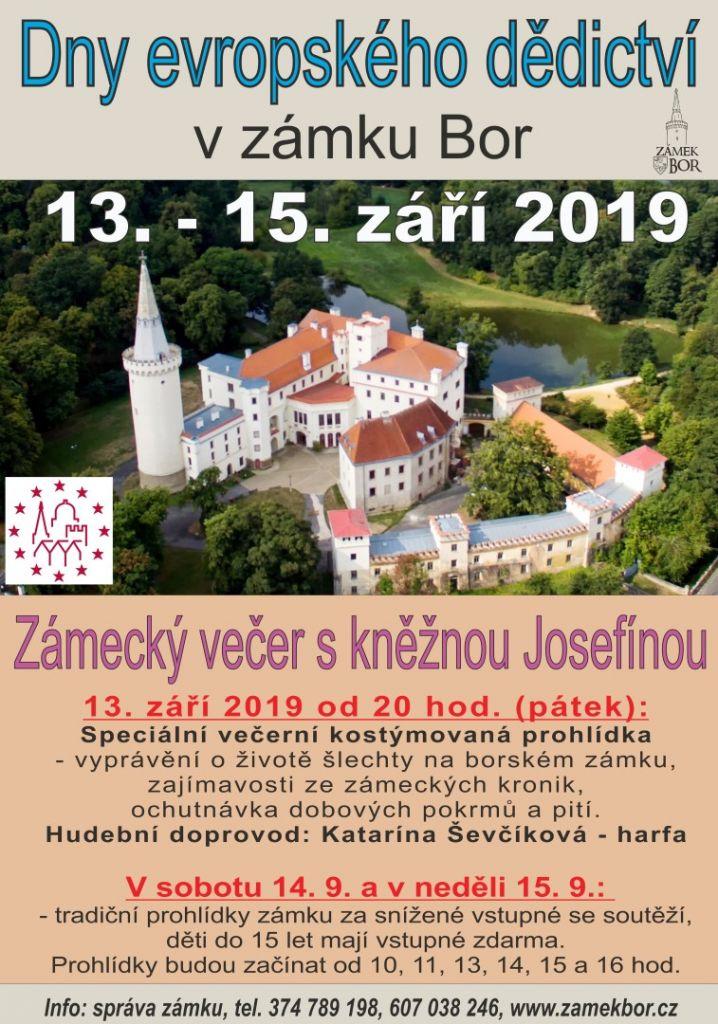 2019-09-13 Zámecký večer s kněžnou Josefínou 1