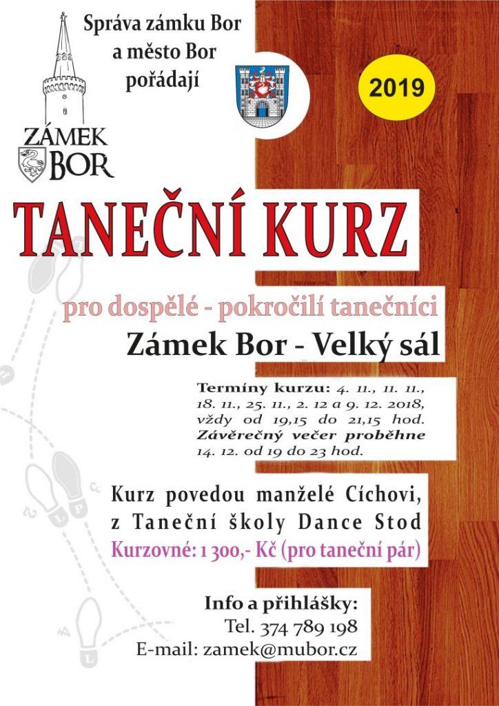 2019-11-04 Taneční kurzy na zámku v Boru