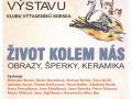 2019-10-17 Výstava Klubu výtvarníků Borska v Tachově 1