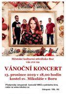 2019-12-13 Vánoční koncert – Bára Zemanová & band – kostel sv. Mikuláše 1