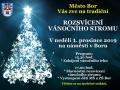2019-12-01 Rozsvícení vánočního stromu v Boru 1