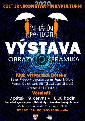 2020-06-19 Vernisáž s výstavou - Klub výtvarníků Borska 1