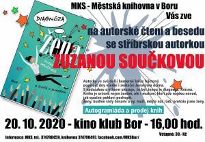 2020-10-20 Autorské čtení a beseda - Zuzana Součková 1