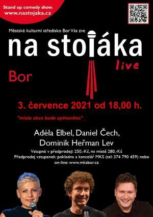 Na stojáka live 1